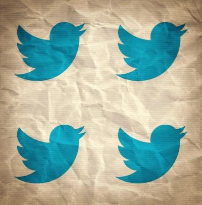 Symbole Twitter