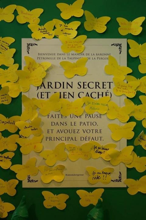 Photo dans la fabrique du Salon du livre: Défaut!