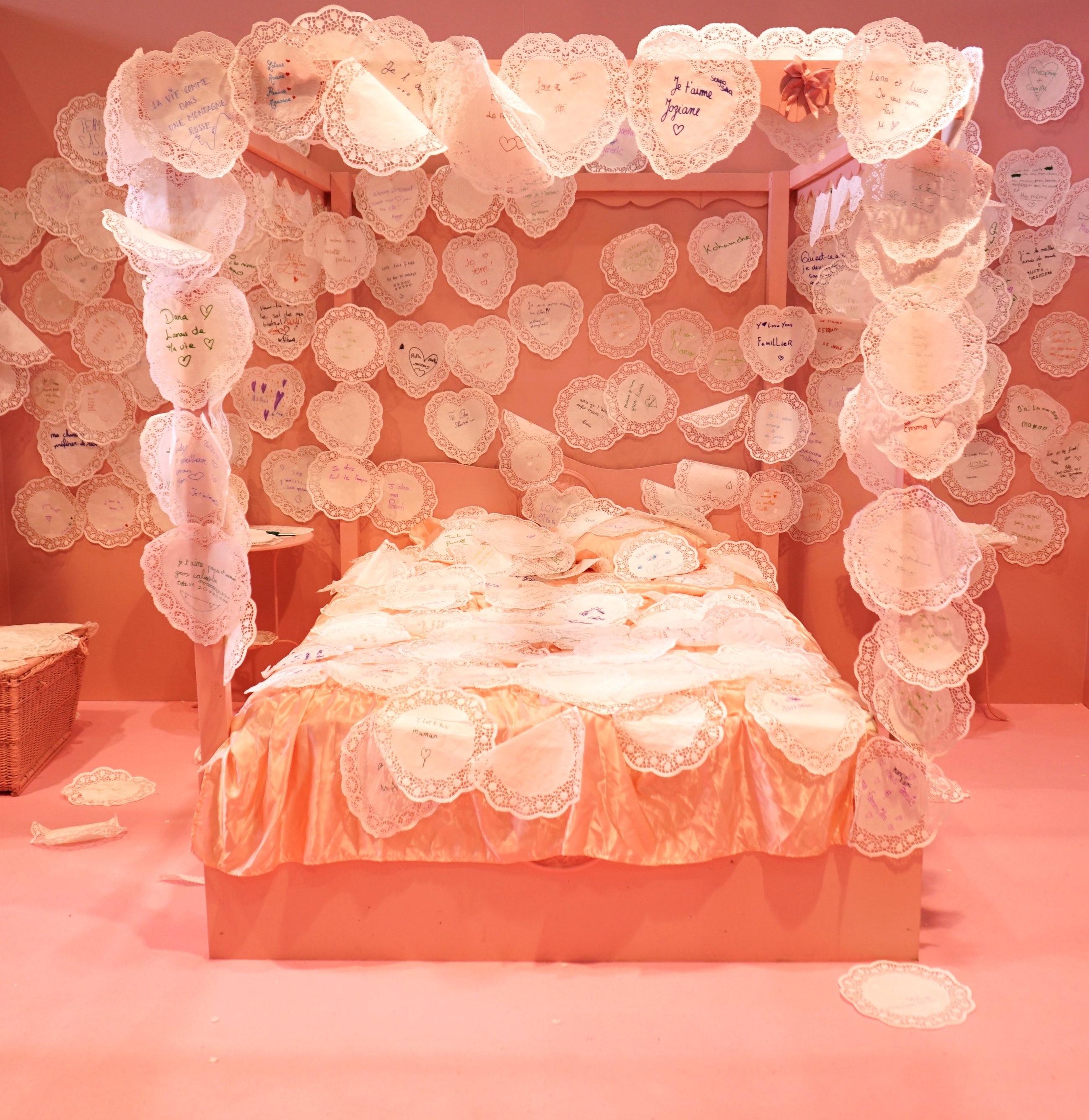 Photo de la chambre de la Fabrique au Salon du livre.