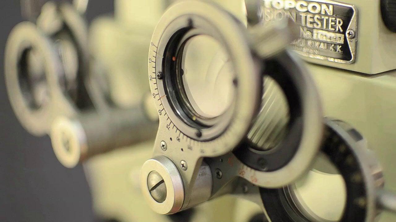 illustration outil d'opticien